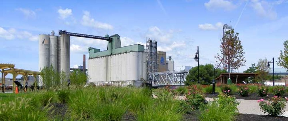 Waterfront grain elevator tours explore buffalo for House plans with elevators waterfront
