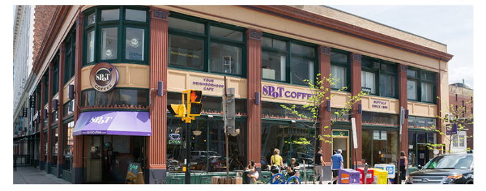 Spot Coffee on Delaware Exterior Image