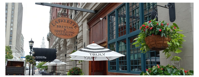 Lafayette Brewing Company Exterior