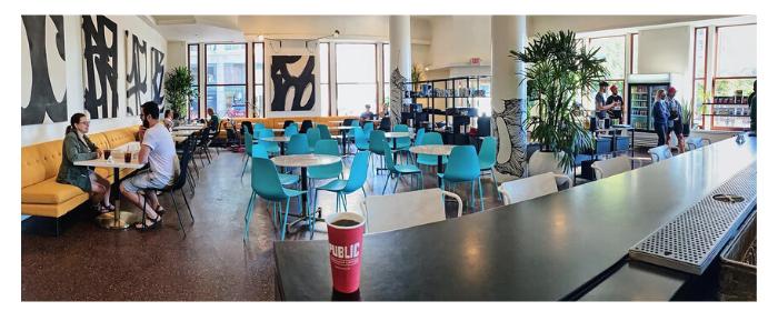 Public Espresso Downtown Interior