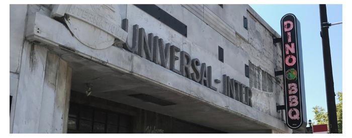 Dino BBQ Exterior Entrance Image