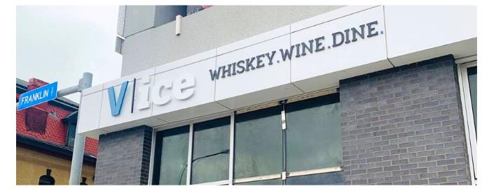 Vice Whiskey and Food Bar