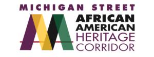 Michigan Street African American Heritage Corridor Logo